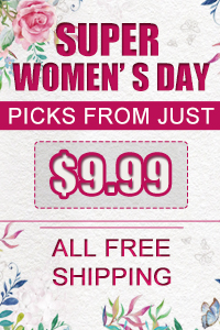 Super Women's Day Picks from just $9.99, free shipping