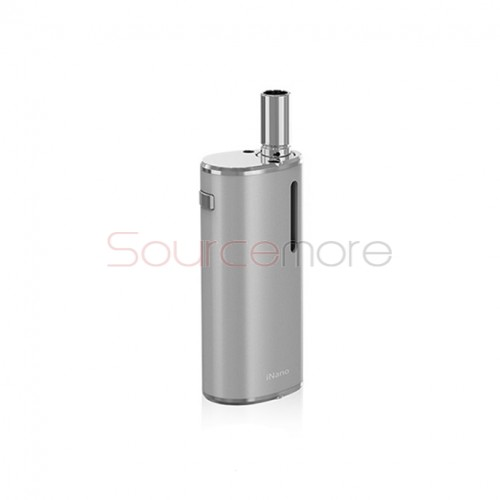 Eleaf iNano 650mAh/0.8ml Capacity Magnetic Connector Starter Kit- Silver