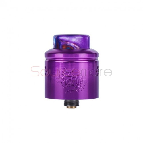 Wotofo Profile RDA Atomizer - Aluminum Purple