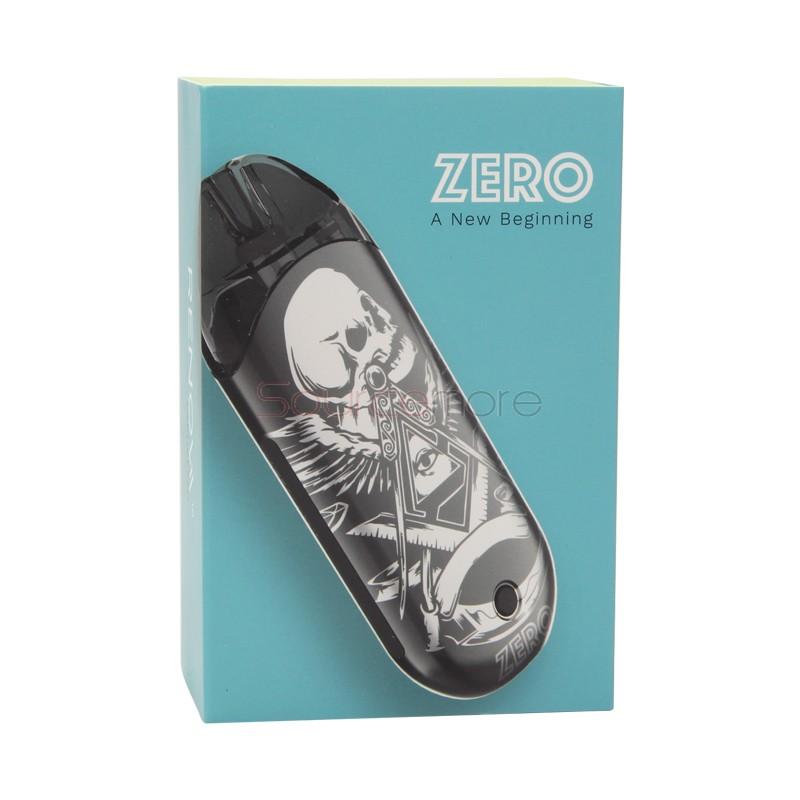 Vaporesso Renova Zero Pod Kit - Metallic Grey Skull
