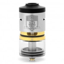 IJOY Combo RDTA/RDA/Sub Ohm Tank with Multiple Decks Optional and 6.5ml Capacity- Silver