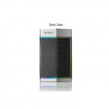 VOOPOO TOO 80W/180W Box Mod Powered by Single/Dual Batteries- Ditch Dark(Silver Frame)