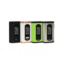 Eleaf Invoke 220W OLED Screen TC/VW Mod Replaceable by Dual 18650 Cells-Black