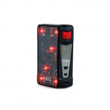 Sigelei Kaos Z 200W TC/VW Box Mod Powered by Dual 18650 Cells-Black