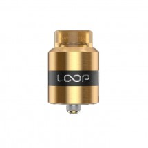 Geek Vape Loop RDA with W-Shaped Build Deck Rebuildable Dripping Atomizer-Gold