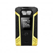 Vaporesso Switcher 220W Mod with OMNI Board 2.6 Powered by Dual 18650 Batteries-Retro yellow