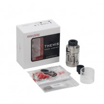 Digiflavor Themis RTA Mesh Version with 5ml Capacity Support Single Coil&Mesh Coil Build-Stainless Steel
