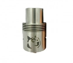 Doge RDA V2 Rebuildable Atomizer with AFC 22mm Diameter 510 connection Big Dirpper-Stainless Steel