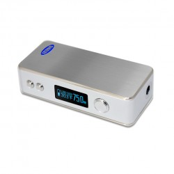 Sigelei 75W Box Mod Variable Voltage/ Variable Wattage Temperature Control Mod-silver