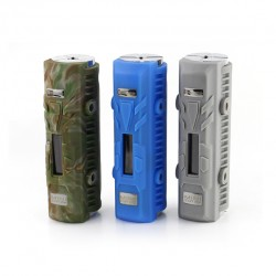 Dovpo Mini E-LVT Box Mod Housing Single 18650 Battery with 2-35W Variable Wattage-Silver