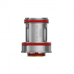 Uwell Crown 4/IV Dual SS904L Coil 0.4ohm