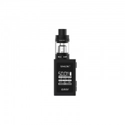 Smok QBOX Kit with TFV8 Baby Tank - black, 2ml