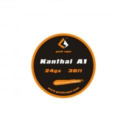 Geek Vape Kanthal A1 24GA Standard Wire 30ft - 2.44ohm/ft