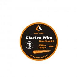 Geek Vape Kanthal A1 26GA+32GA Clapton Wire 15ft - 3.26ohm/ft