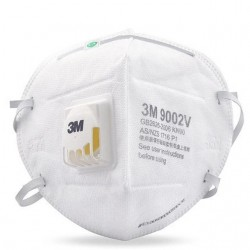 3M 9002V KN90 Face Mask 1