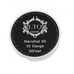 Nikrothal 80 Resistance Wire for Rebuildable Atomizers 30GA Quick Heating Nichrome Wire 30 Feet(LTQ)