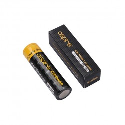 2PCS Aspire 18650 Rechargeable Battery 3.7V/ 20A/ 2500mAh High Capacity Battery