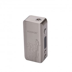 (SMOK)Koopor Mini 60W Temperature Control Box Mod with Dual Driver System -Silver
