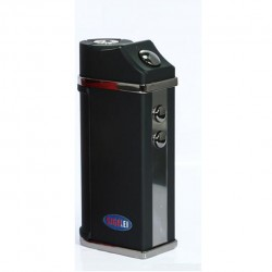 Sigelei  UFO 55W TC Box Mod Single 18650 Battery with Magnetic Battery Cover Temperature Control Mod Supporting Power/Ni/Ti Modes- Black