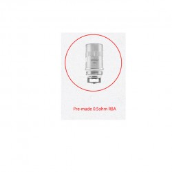 Wismec Pre-made 0.5ohm RBA Replacement Coil head for Amor Plus 5pcs