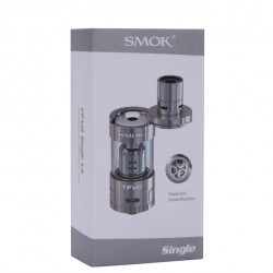 SMOK TFV4 Atomizer Sub Ohm Tank Simple Packing with 510/eGo Thread 5ml-Silver