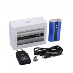 Eleaf   iStick 50W VV/VW Mod Box Kit 4400mah Battery with EU Plug- Blue
