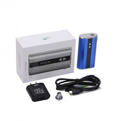 Eleaf   iStick 50W VV/VW Mod Box Kit 4400mah Battery with US Plug- Blue