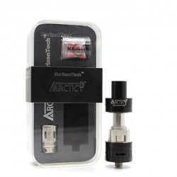 Horizone Arctic V8 4.0ml Adjustbale Airflow Tank with Octuplet Coil 8 Coil Structure and Optional RTA-Black