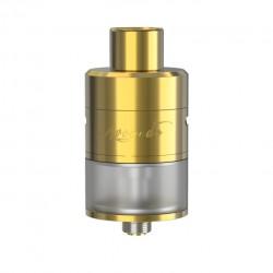 Geek Vape Avocado 24 RDTA 5.0ml Liquid Capacity 24mm Diameter Velocity Deck with Hinge Lock Fill System Tank-Golden