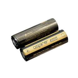 Aspire INR 21700 3.7V Li-ion High Rate 40A 4000mah