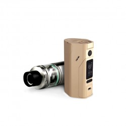 Wismec Bundle Kit with Reuleaux RX2/3  Mod and  Cylin 3.5ml Capacity RTA -Gold