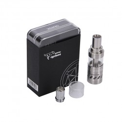 Sense Cyclone Sub Ohm 5.0ml Top Filling High Wattage Tank with 316L Coil-Silver