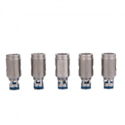 Kanger SSOCC Stainless Steel Organic Cottom Coil Vertical Coil Cylindrical 5pcs-0.15ohm