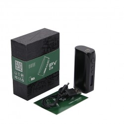 Pioneer4You IPV D3 TC 80W  Box Mod YiHi SX150H Chip Single 18650 Battery Cell-Black