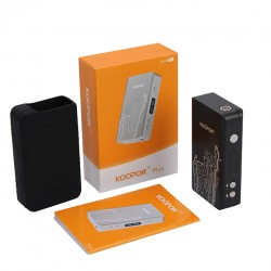 (SMOK)Koopor Plus 200W Temperature Control Box Mod with Dual Driver System -Black