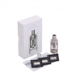 Joyetech  CUBIS Atomizer Kit 3.5ml Adjustable Airflow No Spilling Atomizer with Bottom Feeding Coil BF SS316/Clapton Head-Silver