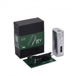 Pioneer4You IPV D3 TC 80W  Box Mod YiHi SX150H Chip Single 18650 Battery Cell-Silver