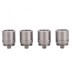 Youde Replacement RBA Coil Head for Zephyrus Tank with Quad Post Deck 4pcs-Stainless Steel