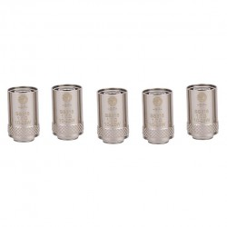 Joyetech Bottom Feeding Replacement Coil Head BF SS316 Mouth Inhale Coil for CUBIS Atomizer 5pcs-1.0ohm