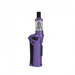 Vaporesso TARGET VTC V2 75W Starter Kit Target 75W VT/VW Single 18650 Box Mod No Spitting Target Tank with cCELL Coil-Purple