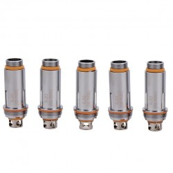 Aspire Cleito Dual Clapton Replacement Coil Head for Cleito Tank 5pcs-0.2ohm