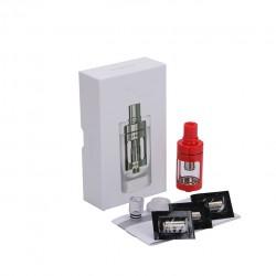 Joyetech  CUBIS Atomizer Kit 3.5ml Adjustable Airflow No Spilling Atomizer with Bottom Feeding Coil BF SS316/Clapton Head-Red