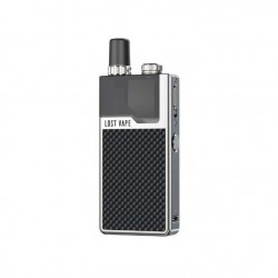 Lost Vape Orion Q Kit SS-Black Weave