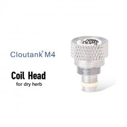 2pcs Cloupor Replacement Coil Head for Cloutank M4 Dry Herb
