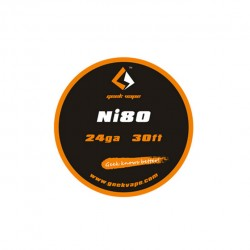 Geek Vape Ni80 24GA Standard Wire 30ft - 1.89ohm/ft