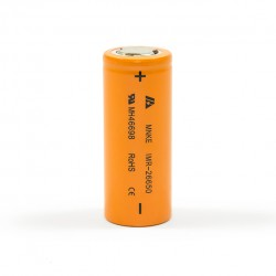 2pcs 30A MNKE  26650 IMR 3500mAh Li-ion  Flat Top 3.7V Rechargeable Batteries