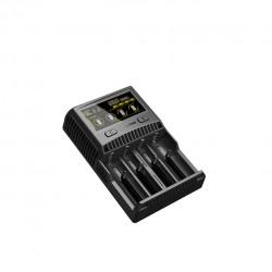 Nitecore SC4 Four Channels Charger-UK Plug