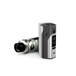 Wismec Bundle Kit with Reuleaux RX2/3  Mod and  Cylin 3.5ml Capacity RTA -Grey&Silver