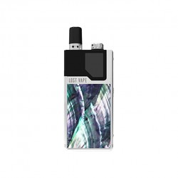 Lost Vape Orion DNA GO Kit Silver Ocean Scallop
