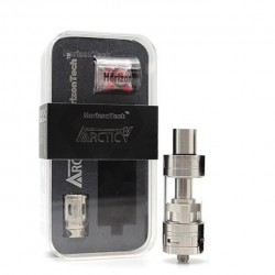 Horizone Arctic V8 4.0ml Adjustbale Airflow Tank with Octuplet Coil 8 Coil Structure and Optional RTA-Silver